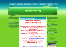 elektroshop.unas.hu