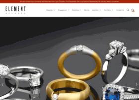 elementbespokejewellery.com