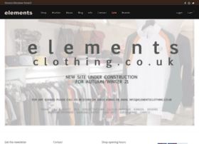 elementsclothing.co.uk
