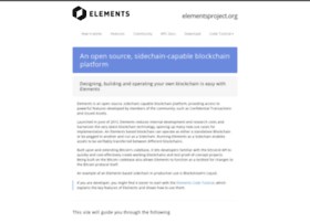 elementsproject.org