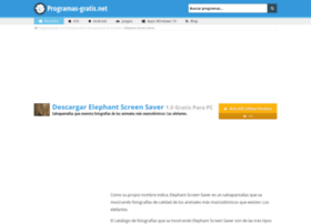 elephant-screen-saver.programas-gratis.net