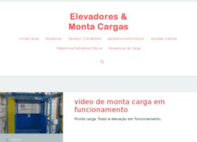 elevadoresemontacargas.com