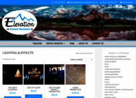 elevationeventlighting.com