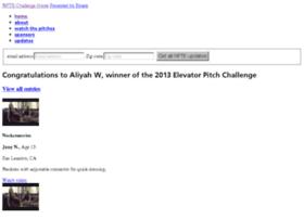 elevatorpitch2012.com