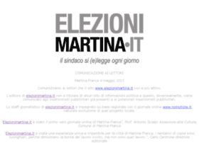 elezionimartina.it