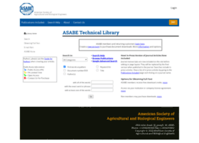 elibrary.asabe.org