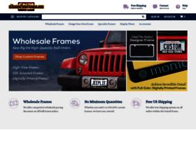 elicenseplateframes.com