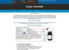 eliquid-database.com