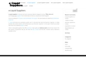 eliquidsuppliers.com
