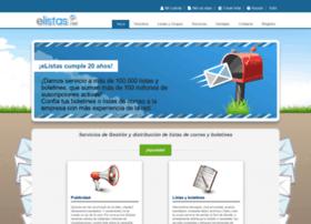 elistas.egrupos.net