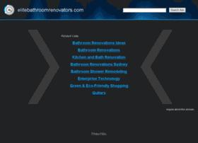 elitebathroomrenovators.com