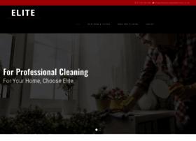 elitecleaningandaftercare.co.uk