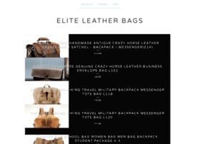 eliteleatherbags.bigcartel.com