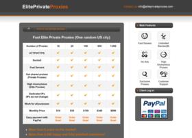 eliteprivateproxies.com