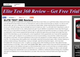 elitetest360muscles.com