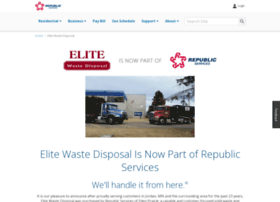 elitewastedisposal.com