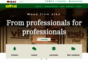 elka-holzwerke.com