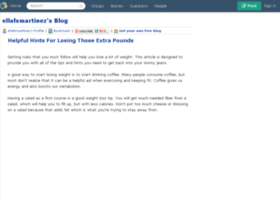 ellafsmartinez.blogs.experienceproject.com
