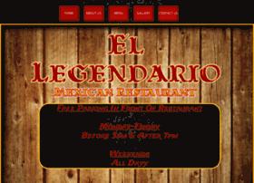ellegendariomxrestaurant.com