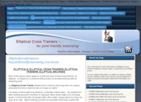 ellipticalcrosstrainers-forjointfriendlyexercising.com