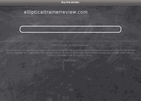 ellipticaltrainerreview.com
