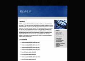 elm-bv.nl