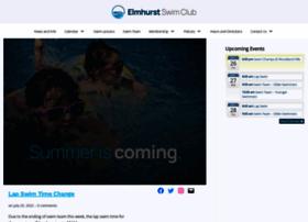 elmhurstswimclub.com