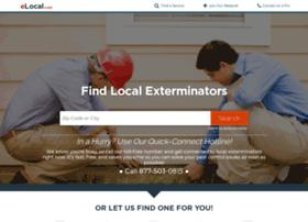 elocalexterminators.com
