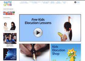 elocutionkids.com