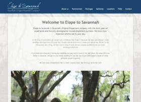 elopetosavannah.com