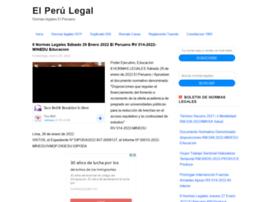 elperuanolegal.blogspot.com