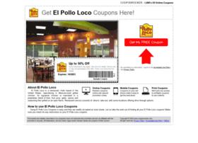 elpolloloco.couponrocker.com