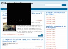 elrostrodelavenganza.com