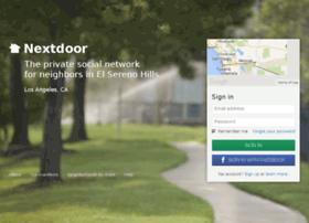 elserenohills.nextdoor.com