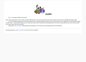 elyxer.nongnu.org