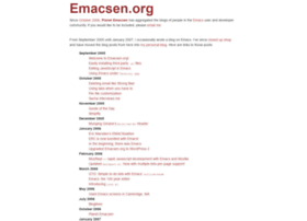 emacsen.org