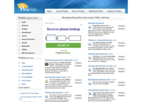Email-data-extraction-utility.winsite.com