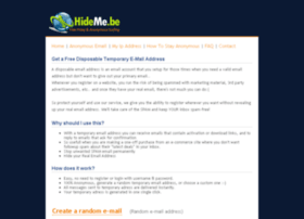 email.hideme.be