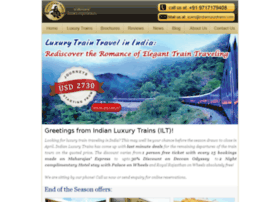 email.indianluxurytrains.com