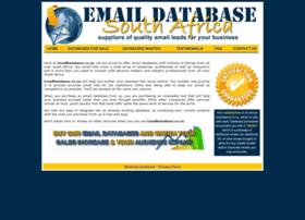 emaildatabase.co.za