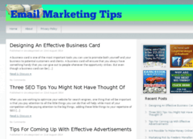 emailmarketingtips.bestinternetmarketinginformation.com