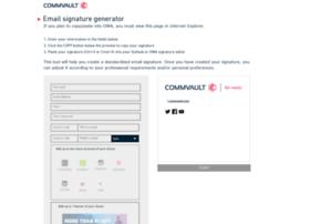 emailsignature.commvault.com