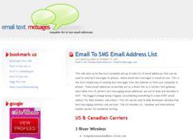 Emailtextmessages.com