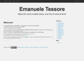 emanueletessore.com