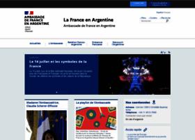 embafrancia-argentina.org