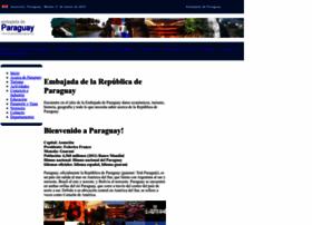 embajadadeparaguay.org