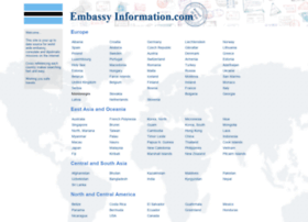 embassyinformation.com