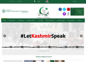 embassyofpakistanusa.org