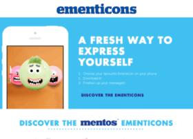 ementicons.mentos.com