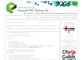emerald-pat-testing.co.uk